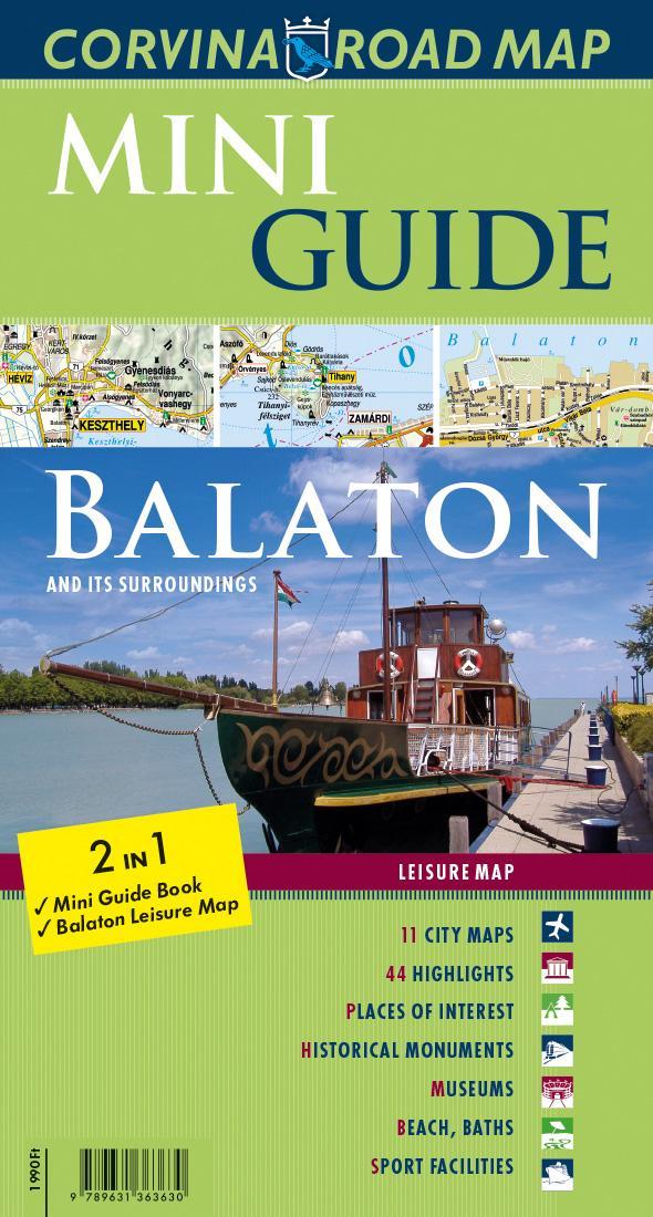 - - Mini Guide - Balaton (útikalauz és térkép)