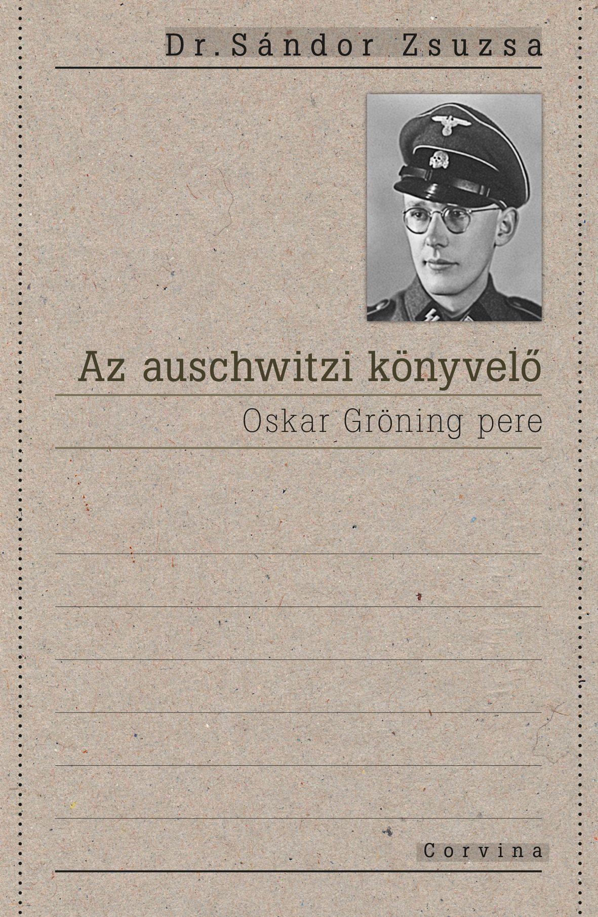 Dr. Sándor Zsuzsa - Az auschwitzi könyvelő -ÜKH 2016
