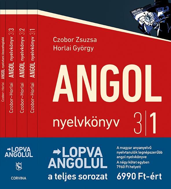 Czobor Zsuzsa - Horlai György - Lopva angolul - 1-4.kötet