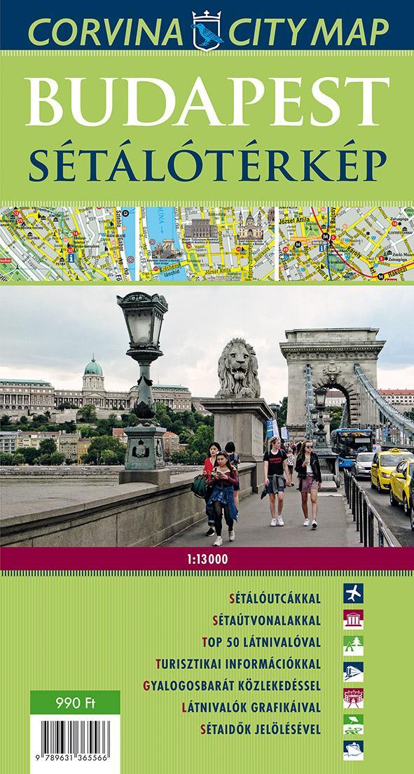 - - Budapest sétálótérkép