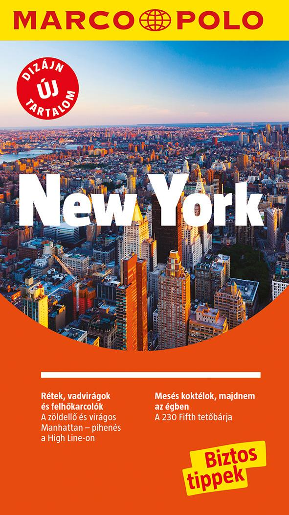 - - NEW YORK - Marco Polo - ÚJ TARTALOMMAL!